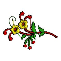 Small Blossoms $10.00 Wedding Embroidery, Blossoms, Flowers, Royal Icing Flowers, Floral, Florals, Florals, Flower, Bloemen