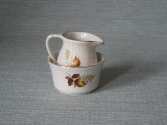 Kernewek Small Jug and Bowl by TheKnally on Etsy