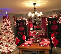 Great Detailed, Christmas Decor!!Room-by-Room photos + music video.  Click on link... you'll be INSPIRED!