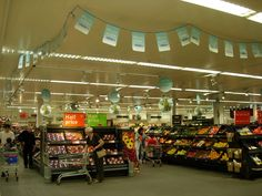 Sainsbury's Bunting produced by House of Flags