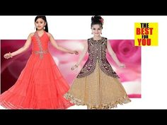 Latest Indian Dresses Collections 2018 - Indian Dresses for Women: 10 TOP Kids Party Wear TRADITIONAL DRESS DESIGN Fa... Traditional Dresses For Kids, Indian Dresses For Kids, Traditional Dresses Designs, Dresses Kids Girl, Toddler Girl Outfits, Designer Baby Clothes, Designer Dresses, Anarkali, Lehenga