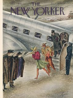 The New Yorker - Saturday, March 1, 1941 - Issue # 837 - Vol. 17 - N° 3 - Cover by : Constantin Alajalov