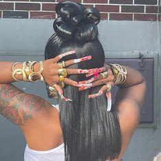 Black Girls Hairstyles, Trendy Hairstyles, Beauty Skin, Hair Beauty, Curly Hair Styles, Natural Hair Styles, Cover Girl Makeup, Dyed Natural Hair, Hair Heaven