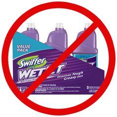swiffer wet jet homemade refill