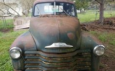 Ran When Parked: 1951 Chevrolet 3600 Chevy Pickups For Sale, Chevrolet, Antique Cars, Trucks, Running, Park, Vehicles, Vintage Cars, Truck