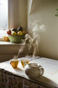 Nothing is better than relaxing with a hot cup of tea and a friend.
