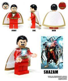 Shazam's Lego Origin