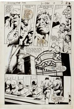 Gene Colan and Dick Giordano Detective #563 Page 2 Original Art | Lot #12038 | Heritage Auctions