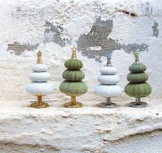 I'm a Christmas Tree Inspired by the Sea - Sea Urchin Tree $31
