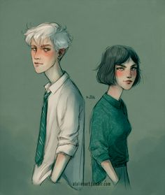 Draco and Pansy by Natello on @DeviantArt