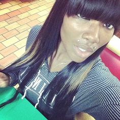 Chinese Bangs on Pinterest   Bob Sew In, Quick Weave and Sew In ...