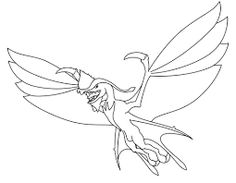 image result for simple line drawing of a dragon