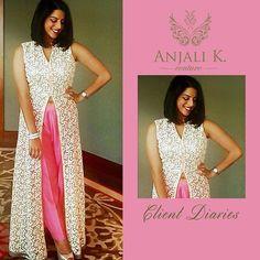Dubai based Indian Couture Wear by Anjali Khushalani (@anjalidk)   Add: Al Hudaiba Awards Complex, C Block #308, Jumeirah, Dubai   ☎️:+97143888938