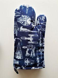 Star Wars Pot Holder Comic Style Licensed Fabric Cook Baker Geek Vader