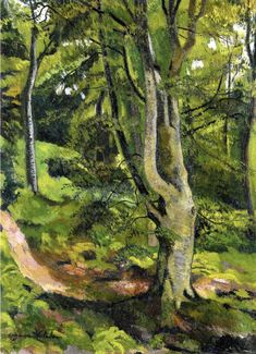 Suzanne Valadon - 1915 In the Woods