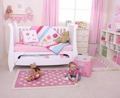 Babyface Flower Garden Cot Bed Quilt