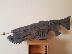 EVA foam Gears of War 4 Lancer, plans by AndrewDFT
