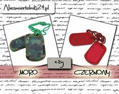 Moro czy czerwony? Wybór należy do Was http://niesmiertelniki24.pl/blaszane_kolorowe,c,1229