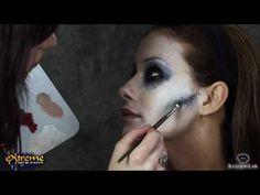 Zombie Makeup How-to, Flapper Zombie Part 3 - Halloween Makeup Tutorial