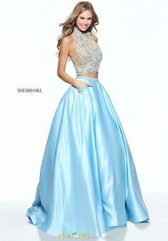 Sherri Hill Beaded A Line Dress 51041