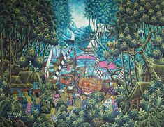 Exotic Balinese Landscapes | Art Collections, Travel