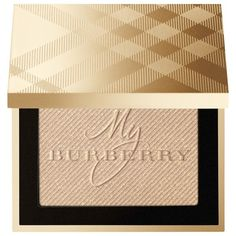Burberry Gold Glow Frangranced Luminising Powder Gold No.01 Limited... found on Polyvore featuring beauty products, makeup, beauty, blush and burberry