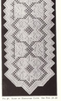 hardanger embroidery for sale - Google Search