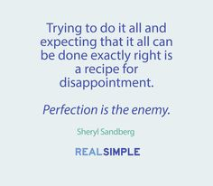Inspiring words from Sheryl Sandberg.