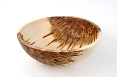 Round Maple Salad Bowl.