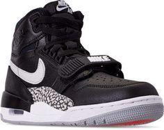 Nike Men's Air Jordan Legacy 312 Off-Court Shoes Black Sneakers, Black Shoes, Shoes Sneakers, Men's Shoes, Fashion Boots, Sneakers Fashion, Men's Fashion, Nike Retail, Army Shoes