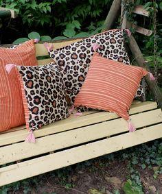 Leopard Pillow Small - Doing Goods