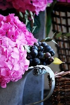 Creating Floral Arrangements In Unique Containers~ A Favorite <3
