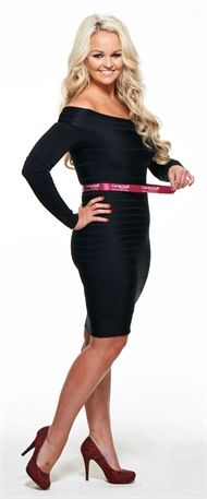Jennifer Ellison's weight loss with Cambridge Weight Plan - After pic
