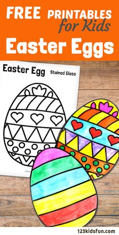 We have Free Easter Coloring Pages for Kids with Easter Egg, Easter Bunny, Easter Chick, Easter Basket. Easter Eggs Kids, Easter Art, Easter Crafts For Kids, Paper Easter Crafts, Free Easter Coloring Pages, Coloring Easter Eggs, Free Coloring, Easter Activities For Kids, Spring Crafts For Kids