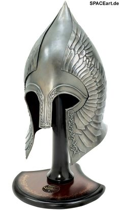 Herr der Ringe: Gondorian Infantry Helm, Helm ... http://spaceart.de/produkte/hdr053.php