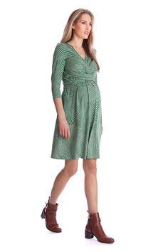 Kelly Umstands- und Still-Kleid grün