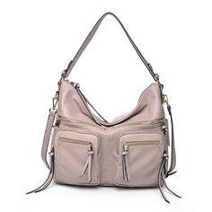Urban Expressions Landen Handbag Vegan Leather Tote Bag Stone on SALE + FREE SHIPPING $69.99 #UELanden #http://www.pinterest.com/BagMadness1/