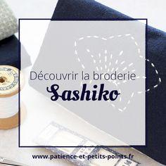 """DISCOVER: start the sashiko with Satomi Sakuma& """"to start"""" kit - Sashiko Embroidery, Learn Embroidery, Japanese Embroidery, Crewel Embroidery, Hand Embroidery Patterns, Japanese Fabric, Embroidery Kits, Embroidery Designs, Machine Embroidery"""