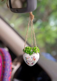 Tiny Treasures - Most Loved Gifts Natural Life Cool Car Accessories, Recycled Gifts, Faux Succulents, Tiny Treasures, Cute Cars, Natural Life, Wheel Cover, Window Sill, Sentimental Gifts