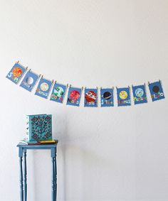 Look what I found on #zulily! Planet Wall Card Set #zulilyfinds