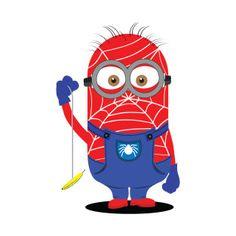 Shop Spider Minion spider man t-shirts designed by zurcnami as well as other spider man merchandise at TeePublic. Minion Avengers, Minion Superhero, Minion Rock, Minions Love, Minion Painting, Minion Classroom, Minion Crochet, Kawaii Disney, Minion Banana