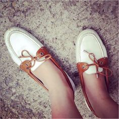 Boat Shoes <3 their so comfy and looks great with any outfit!