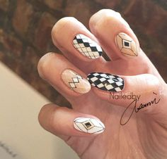 Geometric patterns by Asami
