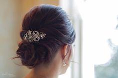 Beautiful wedding dress by Rivini | Bridal updo & makeup by MHD Beauty of Nashville, TN    Styled Shoot | Riverwood Mansion | Nashville, TN