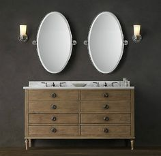 knockout knockoffs restoration hardware maison bathroom the krazy