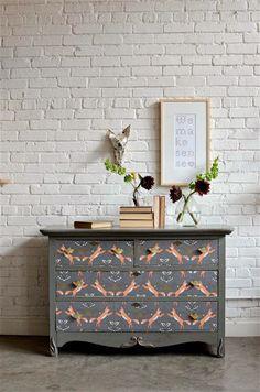 5 ideas encantadoras para utilizar el papel tapiz