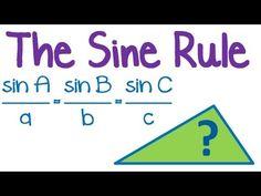 Maths Tutorial: Trigonometry Law of Sines / Sine Rule - YouTube