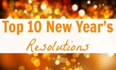 Is your New Year's resolution on this list?