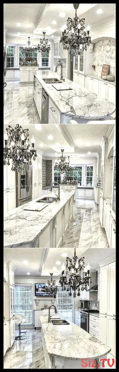 Creative And Inexpensive Cool Ideas: Kitchen Remodel Counter Tops ikea kitchen remodel thoughts.Lowes Kitchen Remodel Built Ins narrow galley kitchen remodel. New Kitchen Cabinets, Kitchen Cabinet Design, Ikea Kitchen, Best Kitchen Layout, Marble Bedroom, Small Farmhouse Kitchen, Luxury Kitchen Design, Kitchen Trends, Kitchen Ideas