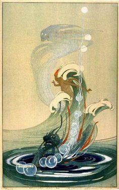 Wind and Wave (1920)--Bertha Lum